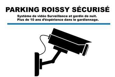 parking roissy securise